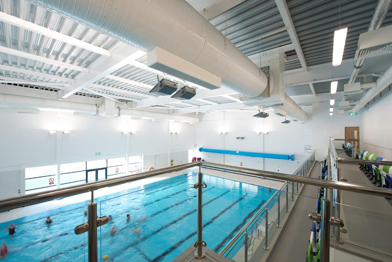 Royton leisure centre structural design edge structural - Swimming pool structural engineer ...