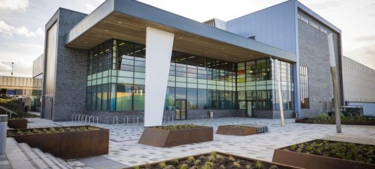 Oldham Leisure Centre Civil Engineering Project