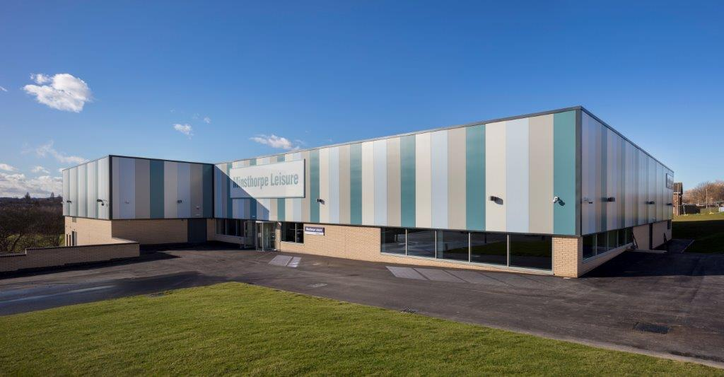 Minsthorpe leisure centre engineering innovation edge - Swimming pool structural engineer ...
